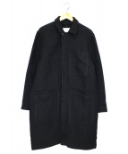 COVERT(コヴェルト)の古着「ウールシャギーコート」|ブラック