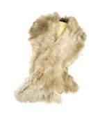 GUSHLOW&COLE(ガシュロウ&コール)の古着「ファーティペット」|ベージュ