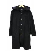 A.P.C.(アーペーセー)の古着「フードコート」|ブラック