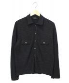 Zanone(ザノーネ)の古着「ニットポロシャツ」|グレー