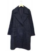 Name. × Ray BEAMS(ネイム × レイビームス)の古着「別注ウールオーバーコート」|ネイビー