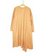ADORE(アドーア)の古着「1/60ベガスムースイレギュラーヘムワンピース」|オレンジ