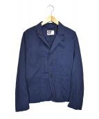 Engineered Garments(エンジニアードガーメンツ)の古着「NBコットンリネン3Bジャケット」|ネイビー