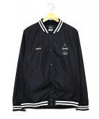 F.C.R.B.(エフシーアールビー)の古着「ライトウェイトスタジアムブルゾン」|ブラック