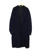 BED J.W. FORD × CANNABIS(ベッドフォード×カンナビス)の古着「別注ガウンコート」|ネイビー