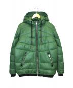 DIESEL(ディーゼル)の古着「中綿ジャケット」|グリーン