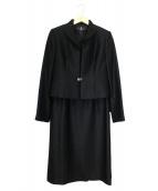 LANVIN NOIR(ランバン ノワール)の古着「ワンピースセットアップ」|ブラック