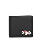BOSS HUGO BOSS(ボス ヒューゴ ボス)の古着「2つ折り財布」 ブラック