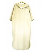 GALLARDA GALANTE(ガリャルダガランテ)の古着「フードロングワンピース」|ベージュ