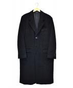 agnes b homme(アニエスベーオム)の古着「チェスターコート」|ブラック