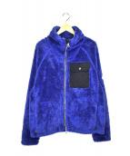 CAPE HEIGHTS(ケープハイツ)の古着「リバースフリースジャケット」|ブルー