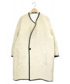 FAD3(ファッドスリー)の古着「ボアコート」|ホワイト