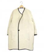FAD3(ファドスリー)の古着「ボアコート」 ホワイト