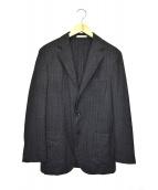 BOGLIOLI(ボリオリ)の古着「ヘリンボーン3Bウールジャケット」|グレー