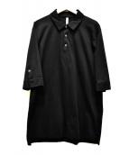 ATTACHMENT(アタッチメント)の古着「モクロディーポロシャツ」|ブラック