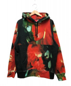 Supreme(シュプリーム)の古着「ザヴェルベットアンダーグラウンドニコフーデットシャツ」|レッド×ブラック