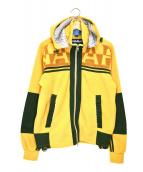 NAPAPIJRI(ナパピリ)の古着「オールドフリースジャケット」|イエロー