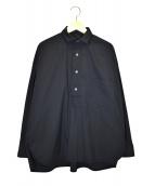 TICCA(ティッカ)の古着「スクエアビッグシャツプルオーバー」|ブラック