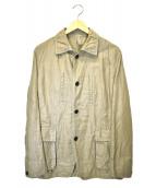 JOSEPH HOMME(ジョセフオム)の古着「リネン混ジャケット」|オリーブ