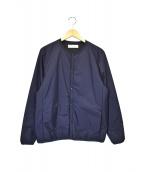 UNIVERSAL PRODUCTS.(ユニバーサルプロダクツ)の古着「中綿ジャケット」|ネイビー