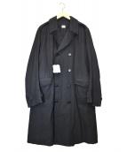 C.P COMPANY(シーピーカンパニ)の古着「コットンツイルライナー付トレンチコート」|ブラック