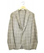 Errico Formicola × SHIPS(エリコ フォルミコラ×シップス)の古着「リネン混テーラードジャケット」|ベージュ