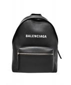 BALENCIAGA(バレンシアガ)の古着「エブリデイバックパック」 ブラック
