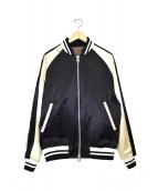SOPHNET.(ソフネット)の古着「リバーシブルスウェードMA-1ジャケット」|ブラウン