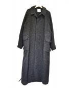 OLD JOE & Co.(オールドジョーアンドコー)の古着「ナッピングウールライニングコート」|グレー