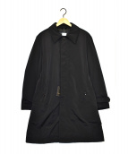 ()の古着「ダウンステンカラーコート」 ブラック