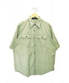 MADISON BLUE × Ron Herman(マディソンブルー×ロンハーマン)の古着「別注ミリタリーシャツ」|カーキ