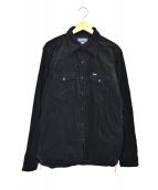 IRON HEART(アイアンハート)の古着「コーデュロイジャケット」|ブラック
