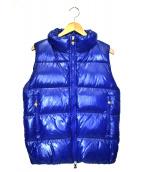 Pyrenex(ピレネックス)の古着「ダウンベスト」|ブルー