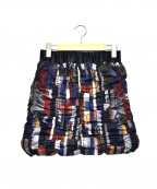 YOSOOU(ヨソオウ)の古着「ダウンスカート」|ネイビー