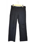 Y's(ワイズ)の古着「ラップテーパードパンツ」|ブラック