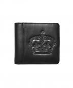 ROYAL ORDER(ロイヤルオーダー)の古着「2つ折り財布」 ブラック