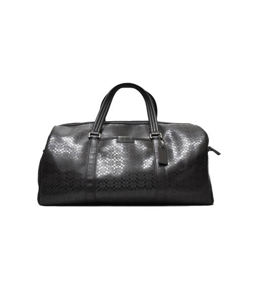 COACH(コーチ)COACH (コーチ) ボストンバッグ ブラック サイズ:下記参照 F93230 A1376の古着・服飾アイテム