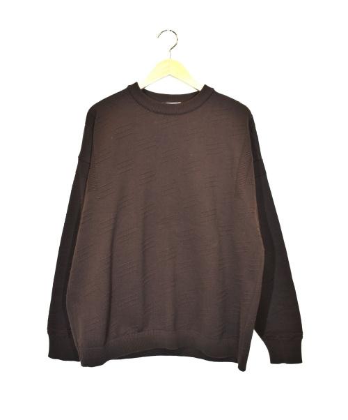 YASHIKI(ヤシキ)YASHIKI (ヤシキ) akikazeニット ブラウン サイズ:2 YSK-19AW-KN02 Akikaze Knit 参考定価¥24.500+税の古着・服飾アイテム