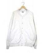 H BEAUTY&YOUTH(エイチ ビューティアンドユース)の古着「ヘビースウェットスナップジャケット」|グレー