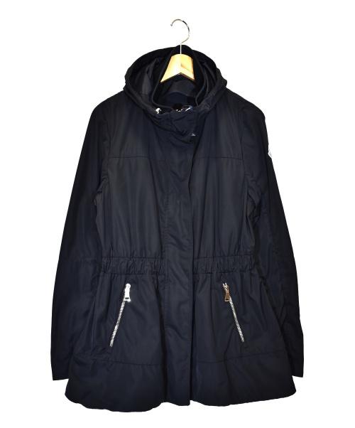 MONCLER(モンクレール)MONCLER (モンクレール) ディステンフードコート ブラック サイズ:1 未使用品 M-DISTHENE-NEの古着・服飾アイテム