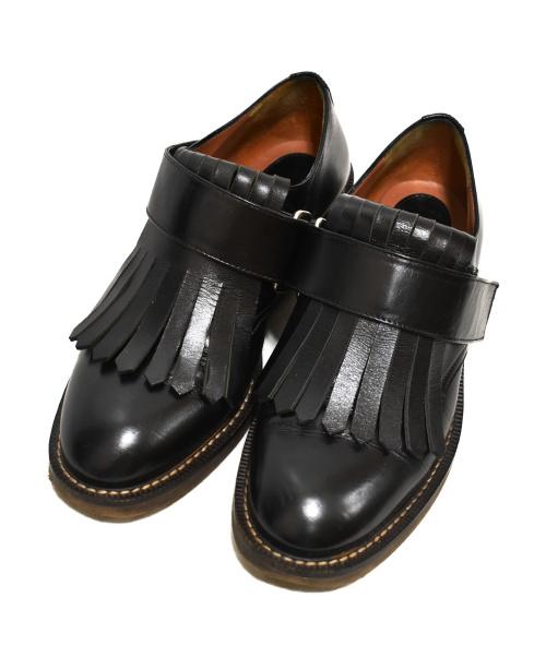 MARNI(マルニ)MARNI (マルニ) フリンジローファー ブラック サイズ:37の古着・服飾アイテム