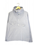 POST O'ALLS(ポストオーバーオールズ)の古着「アノラックパーカー」|ライトグレー