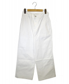 45rpm(フォーティーファイブアールピーエム)の古着「ホワイトデニムパンツ」|ホワイト