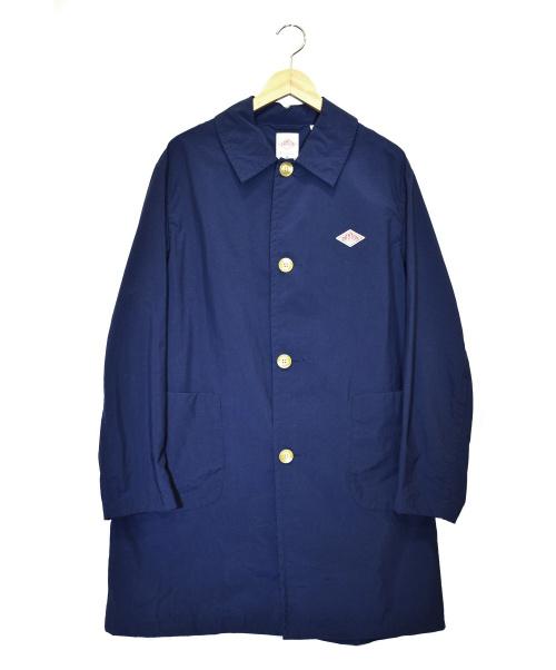 DANTON(ダントン)DANTON (ダントン) ステンカラーコート ネイビー サイズ:38 18S-WS-005の古着・服飾アイテム