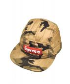 Supreme(シュプリーム)の古着「キャンプキャップ」 ブラウン