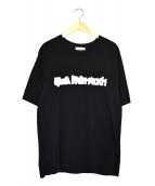 Gosha Rubchinskiy(ゴーシャラブチンスキー)の古着「プリントTシャツ」|ブラック