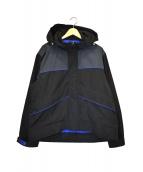 M+RC NOIR(マルシェノア)の古着「バックロゴナイロンジャケット」 ブラック