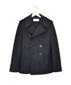 SAINTLAURENT PARIS(サンローランパリ)の古着「エポーレットウールPコート」|ブラック