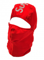 SUPREME(シュプリーム)の古着「リフレクティブロゴバラクラバ目代出し帽」|レッド