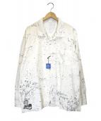 Porter Classic(ポータークラシック)の古着「アロハジャンゴシャツ」|ホワイト
